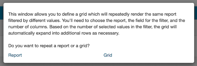 Grid Repeater Start