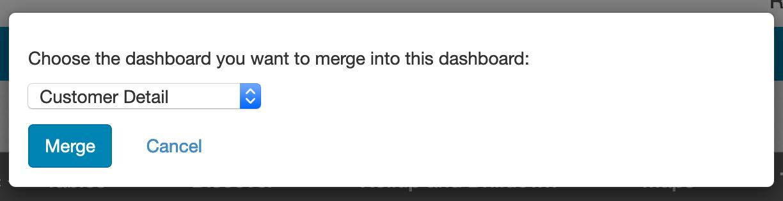 Merge Dashboard